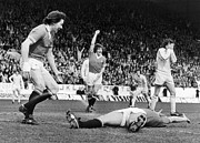 England: Soccer Game, 1977 Print by Granger