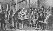Soup Framed Prints - England: Soup Kitchen, 1862 Framed Print by Granger