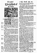 Typeface Prints - English Bible, 1535 Print by Granger