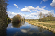Waterway Photos - English countryside1 by Jane Rix