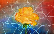 Vision Mixed Media - English Rose by Zbigniew Rusin