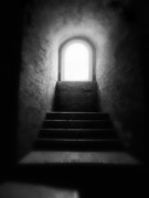 White Photographs Art - Enlighted by Artecco Fine Art Photography - Photograph by Nadja Drieling