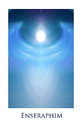 Seraphim Angel Digital Art Posters - Enseraphim Poster by Jeff Haworth