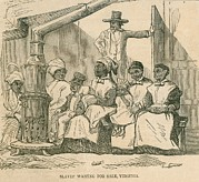 Enslaved Framed Prints - Enslaved African American Women Framed Print by Everett