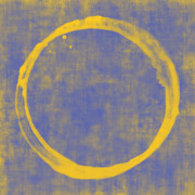 Yellow Posters - Enso 1 Poster by Julie Niemela