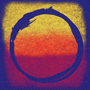 Gallery Digital Art Posters - Enso 6 Poster by Julie Niemela