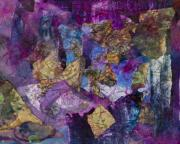 Chromatic Mixed Media Prints - Entanglement Print by Don  Wright