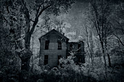 Haunted House Photo Prints - Enter Print by Emily Stauring