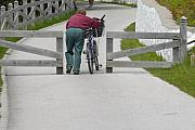 Bicycling Photos - Enter The Narrow Gate by G  Teysen