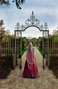 Aristocracy Photos - Entering the Garden by Jill Battaglia