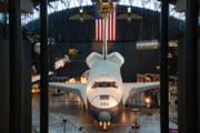 Enterprise Space Shuttle Print by Renee Holder