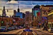 Cityscape Framed Prints - Entertainment Framed Print by Chuck Alaimo