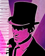 Old Man Digital Art - Entertainment Poster With Man In Top Hat by Photos.com