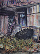 Farm Pastels - Entrance Forgone by Robert Sassi