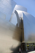 Frank Gehry Prints - Entrance Music Hall Print by Chuck Kuhn