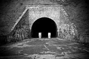 Outskirts Prints - Entrance of a tunnel Print by Fabrizio Troiani