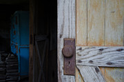 Barn Door Framed Prints - Entrance Framed Print by Off The Beaten Path Photography - Andrew Alexander