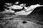 Rannoch Photo Prints - Entrance To Glencoe From Rannoch Moor Highlands Scotland Uk Print by Joe Fox