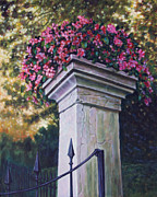 Garden Gate Prints - Entrance to the Garden Print by John Lautermilch