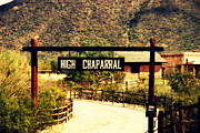 Shows Prints - Entrance to the High Chaparral Ranch Print by Susanne Van Hulst