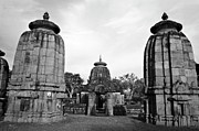 Architectural Feature Photos - Entrance to the Mukteswar Temple in Bhubaneswar India by Sami Sarkis