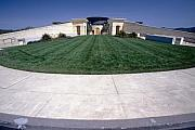 Napa Valley Photos - Entrance View of the Opus One Winery by George Oze