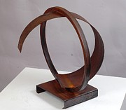 Elegant Sculpture Prints - Entropic Print by Mac Worthington