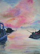 Piers Originals - Entry to Lake Ontario by Judy Via-Wolff