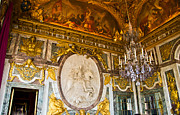 Palace Of Versailles Prints - Entryway to the Hall of Mirrors Print by Jon Berghoff