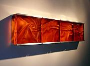 Contemporary Glass Art Originals - Entwine by Daniela Turrin