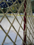 Hockey Net Posters - Entwined II Poster by Tazz Anderson