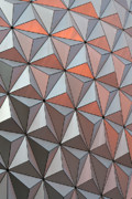 Flower Design Prints - Epcot Pattern Print by Linda Phelps