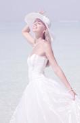 Ephemeral Moment.  Lady Elegance Print by Jenny Rainbow
