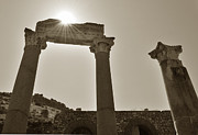 Ancient Ruins Prints - Ephesus 2011 AD Print by Terence Davis