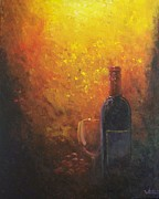 Wine Canvas Paintings - Epic Release by Bill Werle