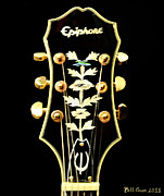 Blues Digital Art - Epiphone by Bill Cannon