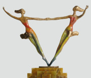 Color Sculpture Originals - Equality by Esther Wertheimer