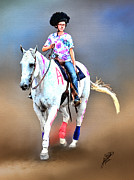Tom Schmidt Acrylic Prints - Equestrian Competition II Acrylic Print by Tom Schmidt