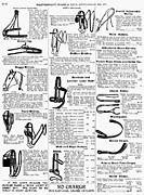 Montgomery Prints - Equestrian Equipment, 1895 Print by Granger