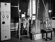 Machine Photos - Equipment For Measuring Gas Properties by National Physical Laboratory (c) Crown Copyright