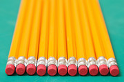 Y120817 Art - Eraser-tipped Pencils by Jon Schulte