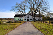 Erdenheim Farm Equestrian Stable Print by Bill Cannon