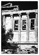 Ancient Greek Ruins Prints - Erechtheum Columns Print by John Rizzuto