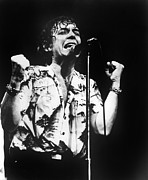 Flowered Prints - Eric Burdon In Concert Print by Everett