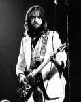 Music Metal Prints - Eric Clapton 1973 Metal Print by Chris Walter