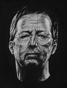 Clapton Art - Eric Clapton by Steve Hunter