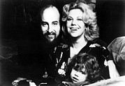 Author Prints - Erica Jong, Author, And Family--husband Print by Everett
