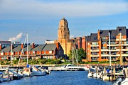 Struckle Prints - Erie Basin Marina Print by Kathleen Struckle