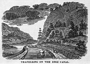 1835 Photos - Erie Canal, 1835 by Granger