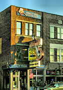 Nashville Tennessee Metal Prints - Ernest Tubbs Record Store Metal Print by Steven Ainsworth